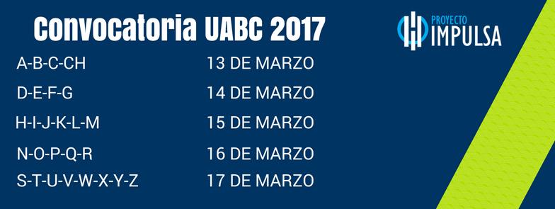 EXAMEN DE ADMISION UABC 2017 2018 CONVOCATORIA uabc