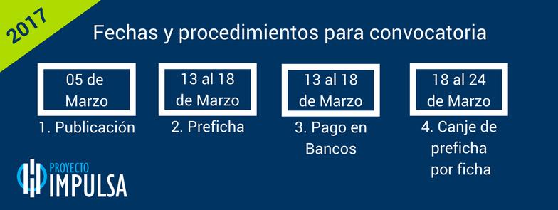 convocatoria UABC 2017 2018 FECHAS DE FICHA Y PREFICHA 3