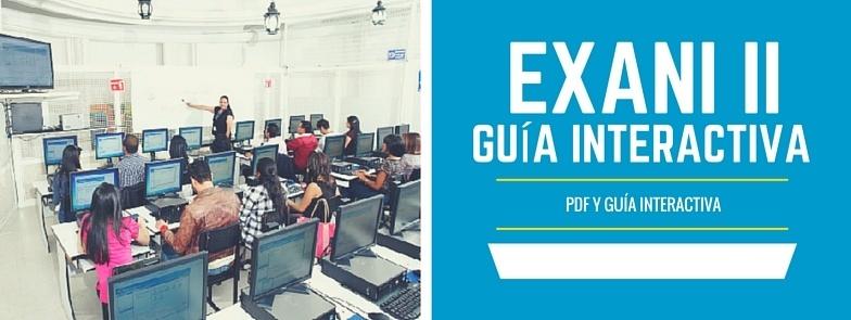 descargar guia interactiva exani II y guia pdf contestada con los resultados