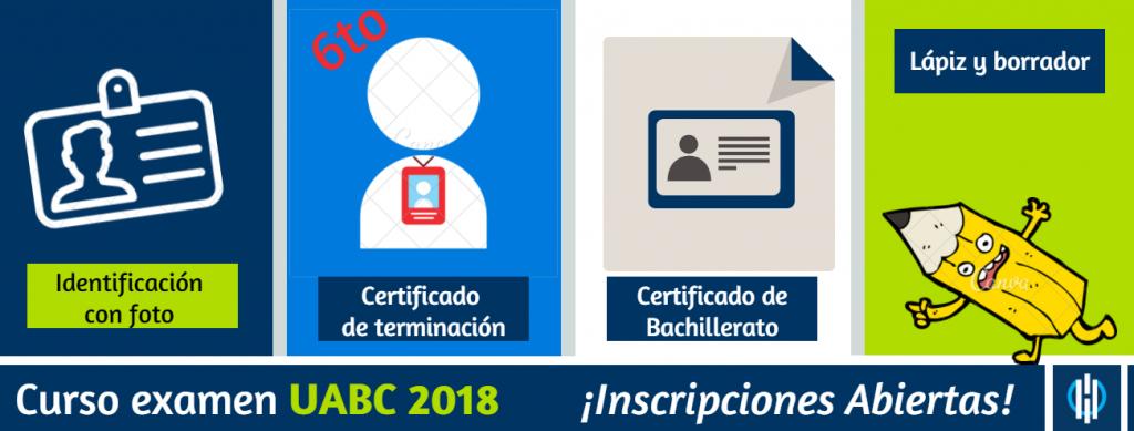 Examen admisiones UABC como estudiar para el examen