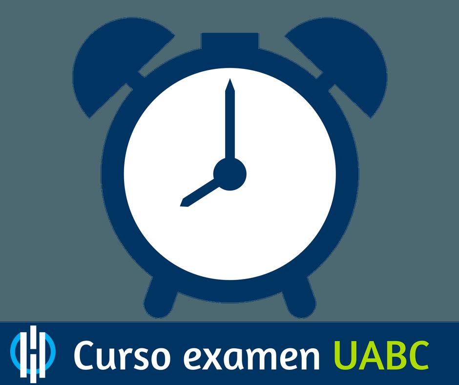 Horario examen uabc de admision