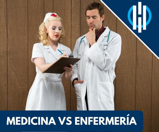 Medicina vs enfermeroa que es mejor