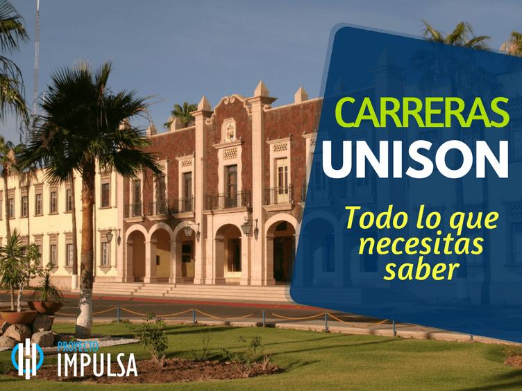CARRERAS UNISON LICENCIATURAS FACULTADES CAMPUS UNISON