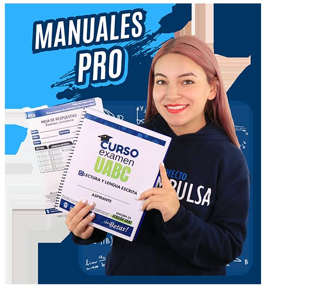 manuales curso examen UABC admisones uabc