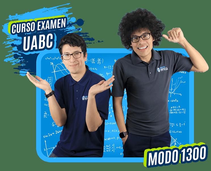 curso examen UABC modo 1300 azul